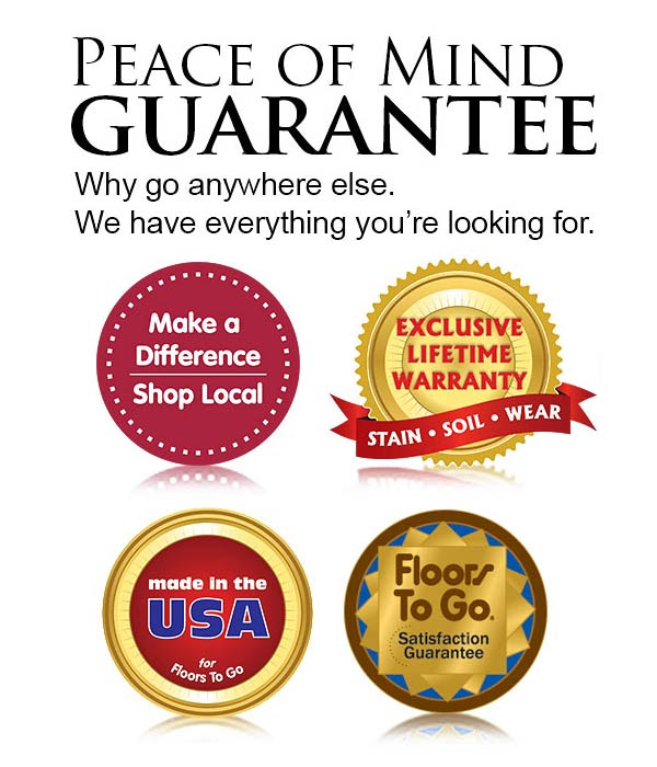 Our flooring warranties and guarantees give you peace of mind.