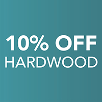 10 percent off Hardwood – Only at Harry's Floors To Go in Burlingame, California