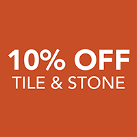 10 percent off Tile & Stone – Only at Harry's Floors To Go in Burlingame, California